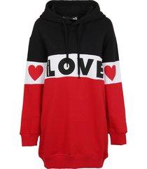 multicolor cotton hoodie