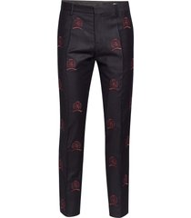 hcm suit sep pants embroidery kostuumbroek formele broek blauw hilfiger collection