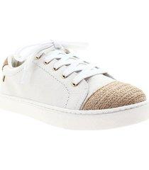 zapatos para mujer marca loucos & santos loucos & santos - blanco