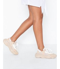 missguided faux suede chunky sneaker low top