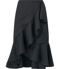 omlottkjol ryker solid skirt