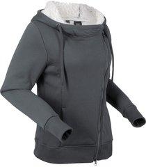 giacca in pellicciotto di pile (grigio) - bpc bonprix collection