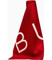 buscemi logo scarf 20821