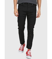 jean negro levi's 510 black tab - high knees