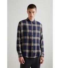 camiseta reserva linho masculino