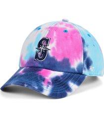 '47 brand women's seattle mariners tie dye adjustable cap