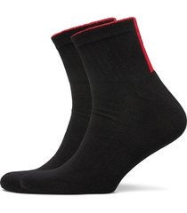 2p sh rib logo cc underwear socks regular socks svart hugo