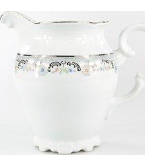 leiteira porcelana schmidt - dec. saint germain
