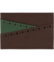 men's stacy adams card case front pocket wallet