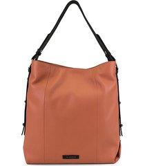parker leather bucket bag