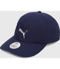 gorra azul-gris puma running iii
