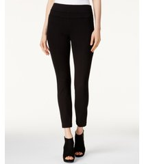 bar iii pull-on ponte leggings, created for macy's