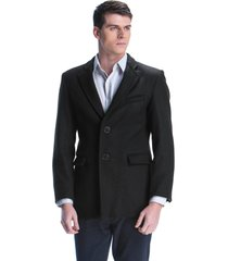 blazer de lã belfast preto