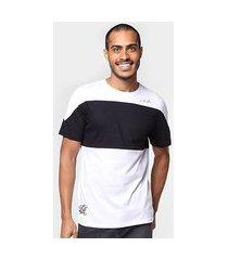camiseta industrie color block los angeles masculina