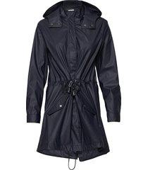 sc-alexa outerwear rainwear rain coats blå soyaconcept