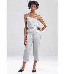 natori key essentials silk pants, women's, 100% silk, size l