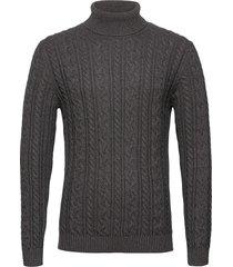 sweaters knitwear turtlenecks grijs esprit casual