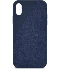 clic canvas iphone xr case - navy