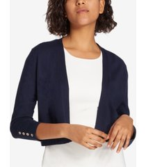 tommy hilfiger button sleeve shrug
