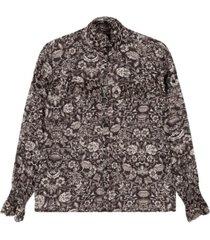 flower blouse - 2102971873-999