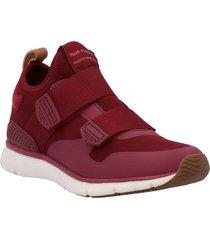 zapatillas rojo hush puppies mujer hp2230118-551-350