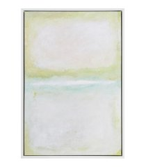 martha stewart dvinsk series framed canvas with gel coat