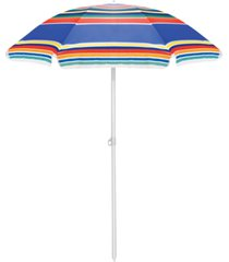 oniva by picnic time large 5.5 ft. portable beach umbrella