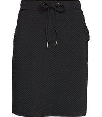 sc-siham jacquard knälång kjol svart soyaconcept