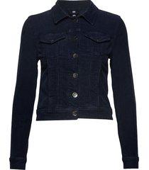 pzsira jacket jeansjacka denimjacka blå pulz jeans