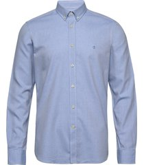 max button down shirt overhemd casual blauw morris