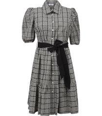 parosh bow-tie mid-length dress
