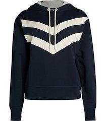 sport block hoodie