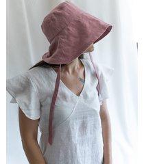 lniany kapelusz przeciwsłoneczny bali