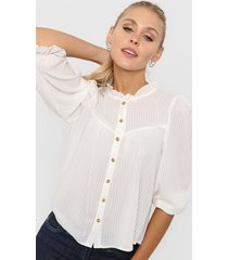 blusa natural asterisco vitoria