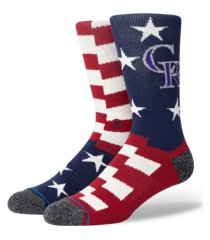 stance colorado rockies brigade socks