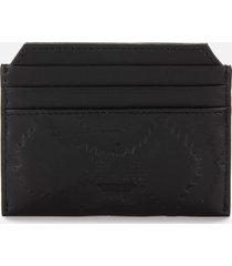 vivienne westwood men's belfast slim card holder - black