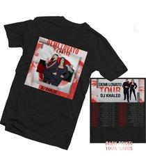 demi lovato tour dates 2018 t shirt available men/women size s, - 3xl