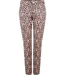 broek met luipaarddesign