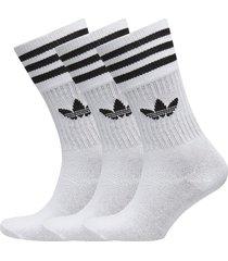 solid crew sock underwear socks regular socks vit adidas originals
