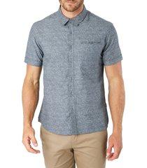 men's 7 diamonds evening flow button-up shirt
