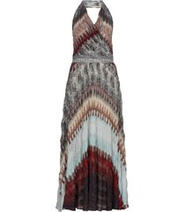 missoni knitted multicolor dress