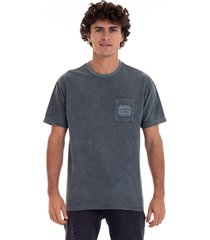 camiseta itinga quiksilver - verde - masculino - dafiti