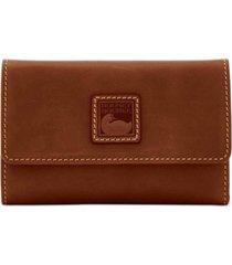 dooney & bourke leather flap wallet