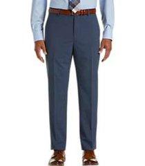 awearness kenneth cole awear-tech postman blue slim fit dress pants