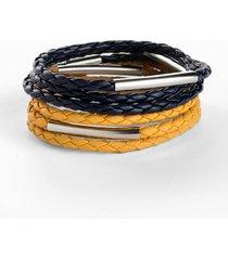 bracciali (pacco da 2) (arancione) - bpc bonprix collection
