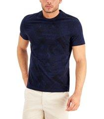 alfani men's brushstroke t-shirt, created for macy's