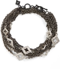 women's armenta new world double wrap scroll bracelet