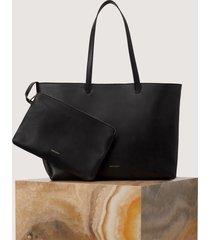 matt & nat nivi tote bag, black