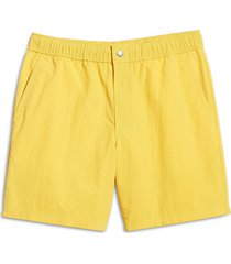men's rag & bone men's eaton shorts, size xx-large - metallic