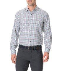 men's rodd & gunn woodhouse regular fit button-up flannel shirt